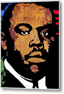 Marcus Garvey 2 Metal Print by Otis Porritt