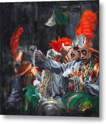Mardi Gras 242 4 Metal Print by Mawra Tahreem