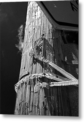 Metal Print featuring the photograph Mardi Gras Aftermath 1 by Maggy Marsh