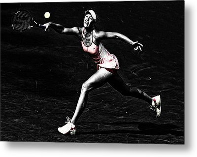 Maria Sharapova Extended Metal Print by Brian Reaves