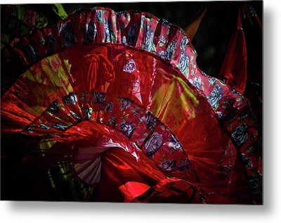 Mariachi Dancer 1 Metal Print