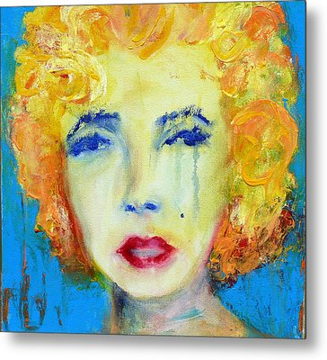 Marilyn Metal Print by Jacquie Gouveia