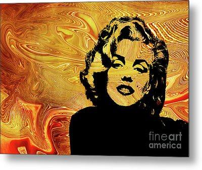 Marilyn Monroe. .  Metal Print by Prar Kulasekara