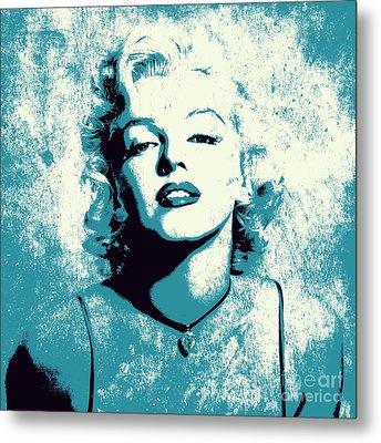 Marilyn Monroe - 201 Metal Print