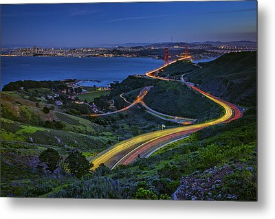Marin Headlands Metal Print by Rick Berk