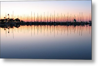 Metal Print featuring the photograph Marina At Dawn by Farol Tomson