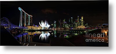 Marina Bay Sands Metal Print