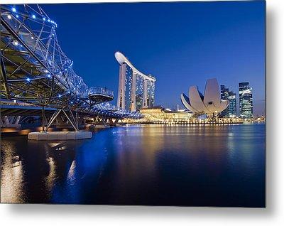 Marina Bay Sands Metal Print by Ng Hock How