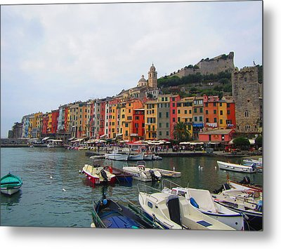 Metal Print featuring the photograph Marina Of Color by Christin Brodie