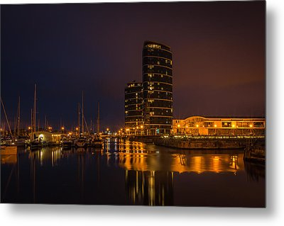 Metal Print featuring the photograph Marina by Ryan Photography