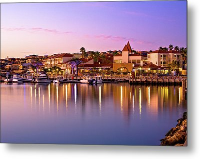 Marina Sunset, Mindarie Metal Print by Dave Catley