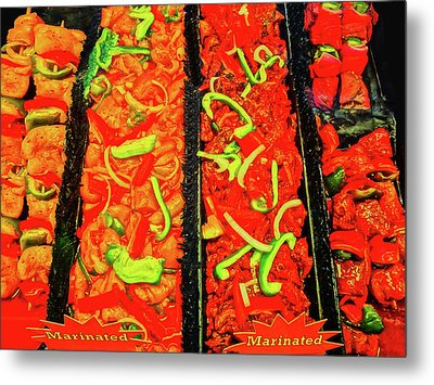Marinated 3 Metal Print by Bruce Iorio