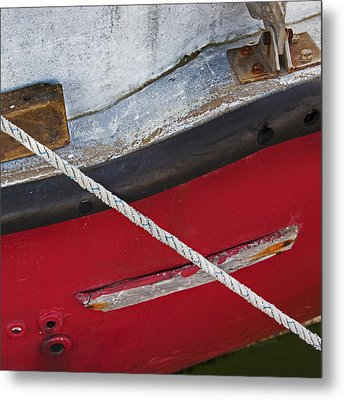 Metal Print featuring the photograph Marine Abstract by Charles Harden