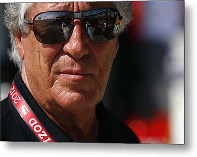 Mario Andretti Racing Legend Metal Print by Jeff  Young