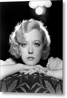 Marion Davies, Early 1930s Metal Print by Everett