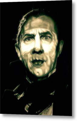 Mark Of The Vampire Metal Print by Fred Larucci