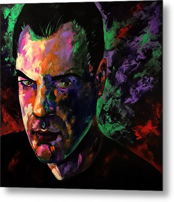 Metal Print featuring the painting Mark Webster Artist by Mark Webster