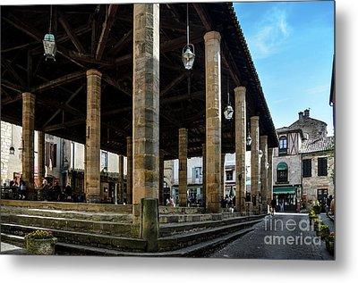 Market Hall Of Cordes-sur-ciel Metal Print by RicardMN Photography