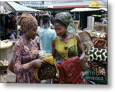 Market In Accra Ghana Metal Print