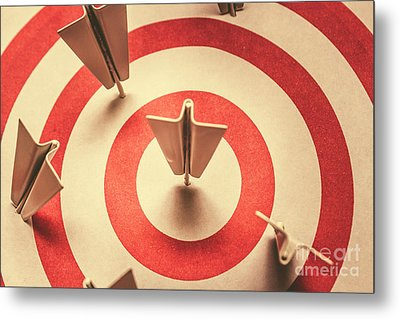 Marketing Your Target Market Metal Print
