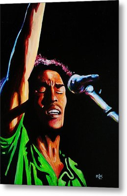 Marley One Love Metal Print by Richard Klingbeil