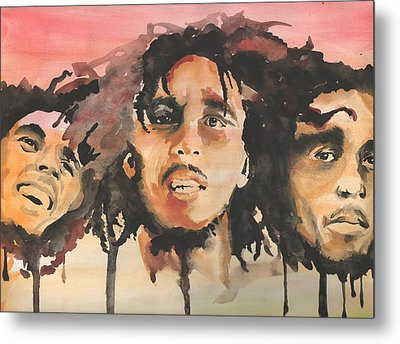 Marley Trio Metal Print by Matt Burke