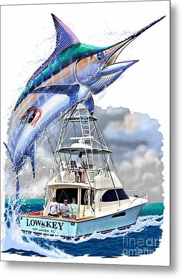 Marlin Commission  Metal Print