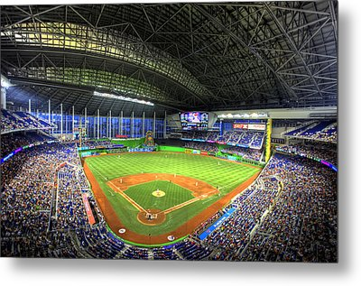 Marlins Park Metal Print