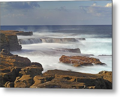 Maroubra Seascape 01 Metal Print by Barry Culling