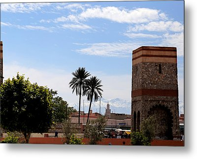 Metal Print featuring the photograph Marrakech 2 by Andrew Fare