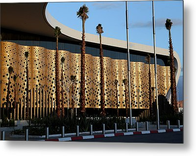 Metal Print featuring the photograph Marrakech Airport 1 by Andrew Fare