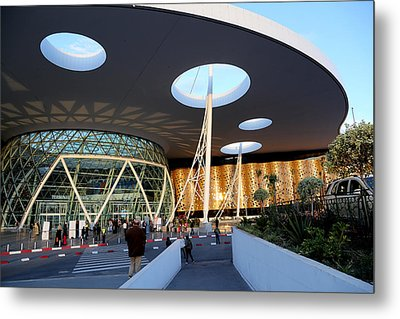 Metal Print featuring the photograph Marrakech Airport 2 by Andrew Fare