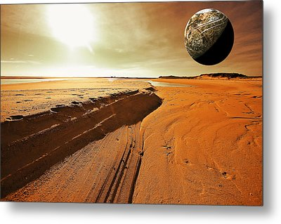 Mars Metal Print by Dapixara Art