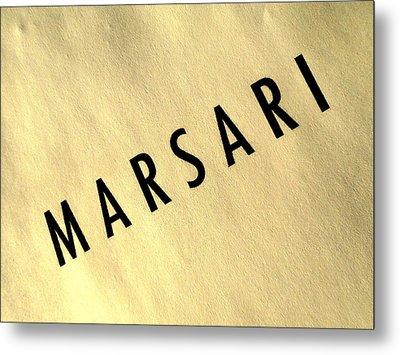 Marsari Gold Metal Print