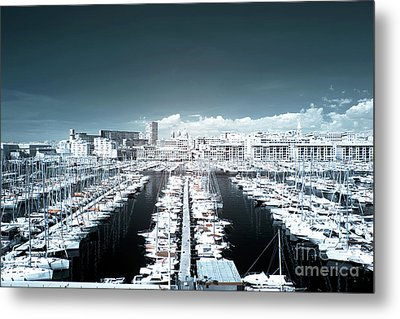 Marseille Blues Metal Print by John Rizzuto