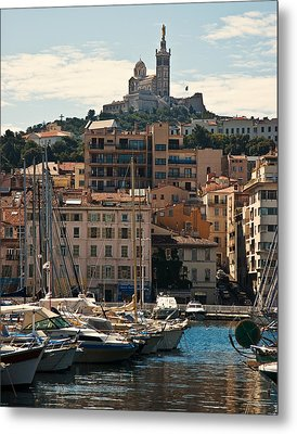 Metal Print featuring the photograph Marseilles by Ron Dubin