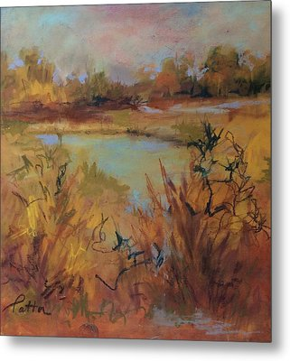 Marsh Memories Metal Print
