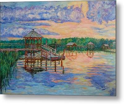 Marsh View At Pawleys Island Metal Print