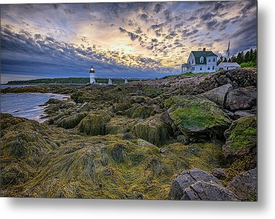Marshall Point At Dusk Metal Print by Rick Berk