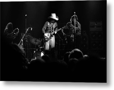 Marshall Tucker Winterland 1975 #24 Metal Print