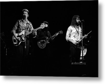 Marshall Tucker Winterland 1975 #47 Metal Print