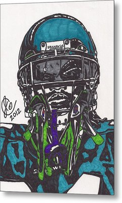 Marshawn Lynch 1 Metal Print by Jeremiah Colley
