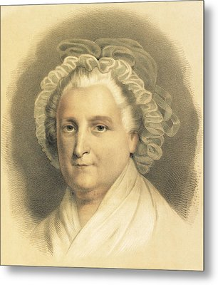 Martha Washington Metal Print by American School