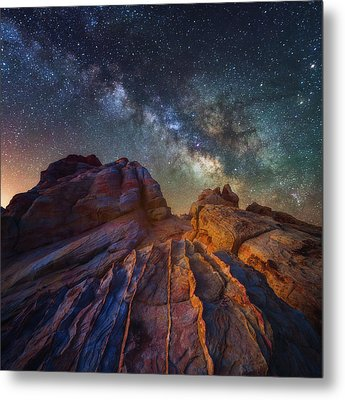 Metal Print featuring the photograph Martian Landscape by Darren White