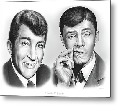 Martin And Lewis Metal Print