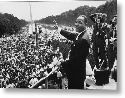 Martin Luther King Metal Print by American School