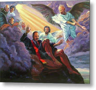 Martin Luther King Jr Metal Print by Steve Simon