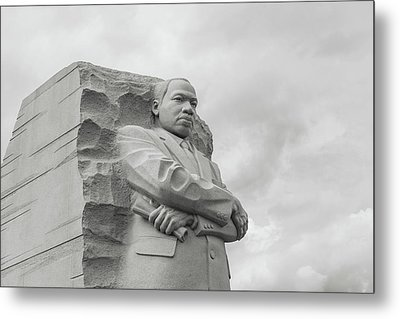 Martin Luther King Memorial In Washington Dc Metal Print