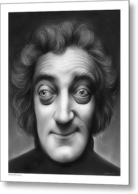 Marty Feldman Metal Print by Greg Joens