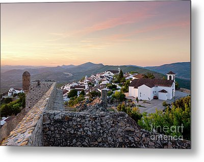 Marvao At Dawn Metal Print